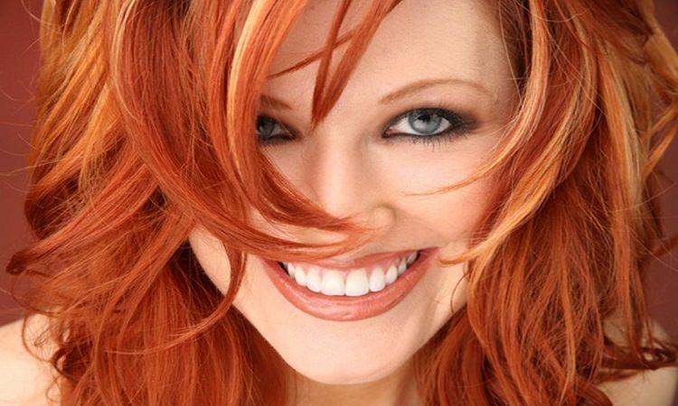 Боядисаната коса: преди и след