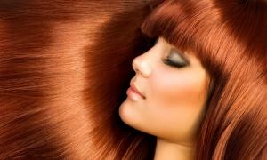 Красивата и здрава  коса увеличава красотата на жената