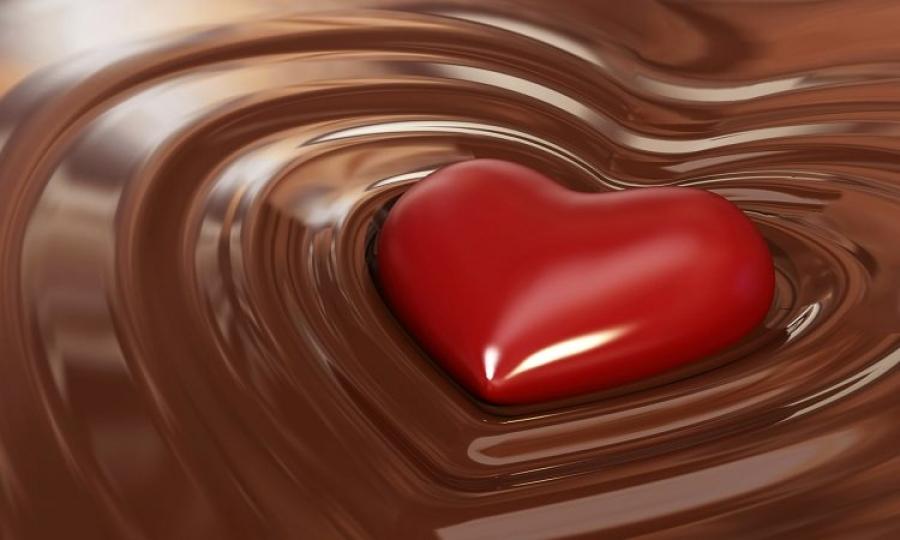 Шоколадът символ на любов и страст